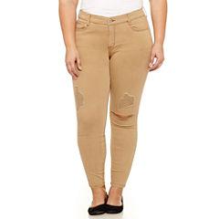 Arizona Ankle Pants-Juniors Plus