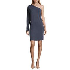 Worthington Long Sleeve Sheath Dress