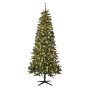 North Pole Trading Co. 7.5' Berkley Blue Spruce Pre Lit Tree