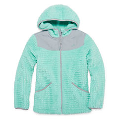 Vertical 9 Girls Lightweight Fleece Jacket-Big Kid