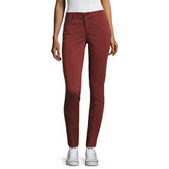 Rewind Skinny Fit Ankle Pants-Juniors