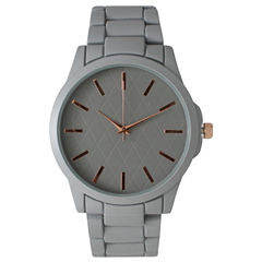 Olivia Pratt Womens Grey Bracelet Watch 14705