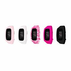 B-fit Women's Activity Tracker & 5pc. Interchangeable Band Set-Ba2213bk607-078