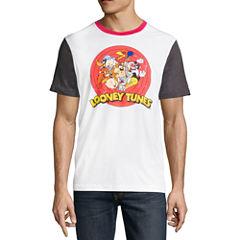 Short Sleeve Looney Tunes Graphic T-Shirt