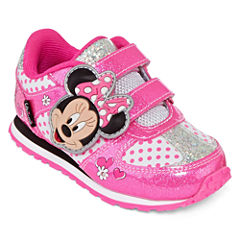 Disney Minnie Mouse Girls Athletic Shoes - Toddler