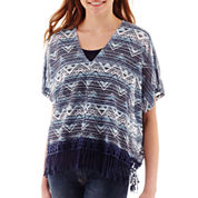 Almost Famous Fringe Poncho