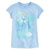 Disney Collection Cinderella Graphic Tee - Girls 2-10