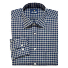 Stafford® Long-Sleeve Brushed Twill Dress Shirt