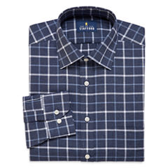 Stafford® Long-Sleeve Brushed Twill Dress Shirt - Big & Tall