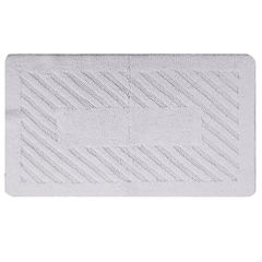Castle Hill London Diagonal Racetrack Reversible Bath Rug Collection