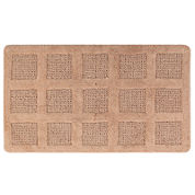 Perthshire Platinum Collection Square Honeycomb Bath Rug Collection