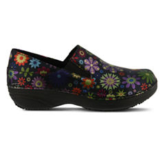 Spring Step Professionals Manila Womens Slip-On Shoes