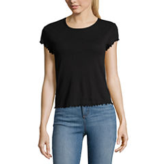 City Streets Short Sleeve Round Neck Graphic T-Shirt