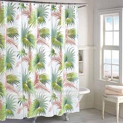 Destinations Beach Palm Shower Curtain