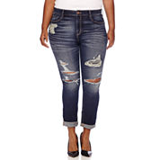 Arizona High-Rise Skinny Jeans - Juniors Plus