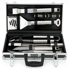 Mr. Bar-B-Q 18-pc. Stainless Steel Barbecue Tool Set