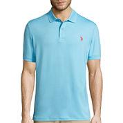 U.S. Polo Assn.® Short-Sleeve Interlock Performance Polo