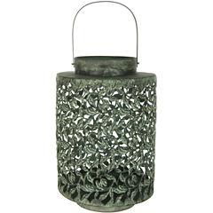 Oriental Furniture Traditional Wrought Iron Decorative Lantern