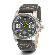 Wrist Armor® C1 Mens US Army Olive Canvas Watch