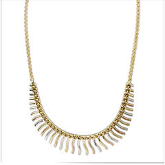 Tri-Tone Cleopatra Necklace