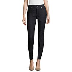 Liz Claiborne® Ultimate Fit Slimming Ankle Jeans - Petite