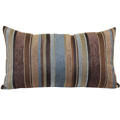 Carnival Stripe Decorative Pillow