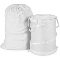 Honey-Can-Do® Mesh Laundry Bag and Hamper