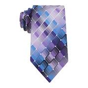 Van Heusen® Shaded Geo Silk Tie - Extra Long