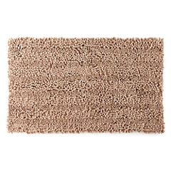 Chenille Lines Bath Rug Collection