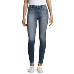 Blue Spice Skinny Jeans-Juniors