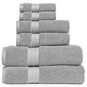 Royal Velvet® Premium Cotton 6-pc. Bath Towel Set