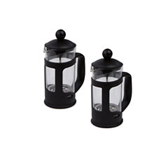 Mind Reader Glass French Press - 2 Pack