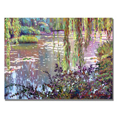 Homage to Monet Canvas Wall Art