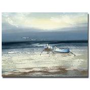 Low Tide Canvas Wall Art