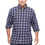 The Foundry Big & Tall Supply Co.™ Long-Sleeve Flannel Shirt