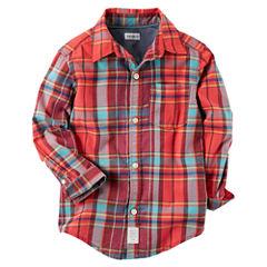 Carter's Long Sleeve T-Shirt-Preschool Boys