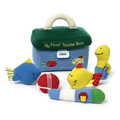 Gund My 1st Tackle Box Playset 5-pc. Plush Play Sets