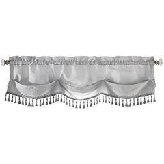 Croscill Classics® Luxembourg Rod-Pocket Tasseled Valance
