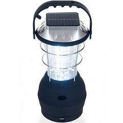 Whetstone™ 36-LED Solar- and Crank-Powered Camping Lantern