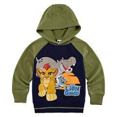 Okie Dokie® Lion Guard French Terry Hoodie - Toddler Boys 2t-5t