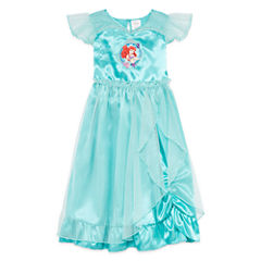 Disney Ariel Collection Short-Sleeve Little Mermaid Gown