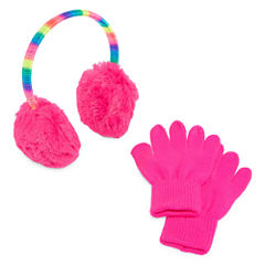 Capelli of N.Y. Spacedye Ear Muffs andGloves-Big Kid Girls