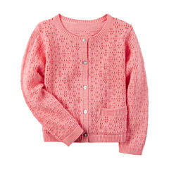 Carter's Long Sleeve Cardigan - Toddler Girls