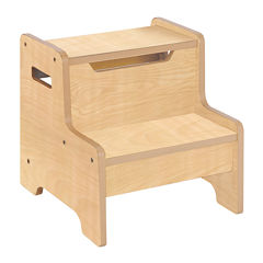 Expressions Kids Step Stool - Natural