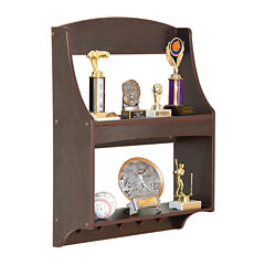 Expressions Trophy Rack - Espresso