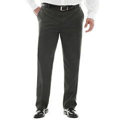 Van Heusen® Ultimate Traveler Mélange Flat-Front Pants - Big & Tall