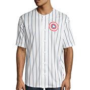 Captain America Short-Sleeve Baseball Jersey