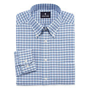 Stafford® Long-Sleeve Wrinkle-Free Oxford Travel Dress Shirt - Big & Tall