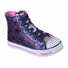 Skechers Twinkle Toes Shuffles Rock Girls Sneakers - Little Kids