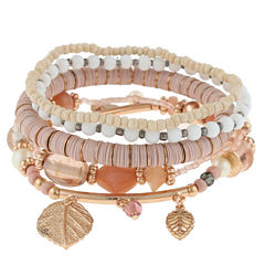 Decree Womens Stretch Bracelet